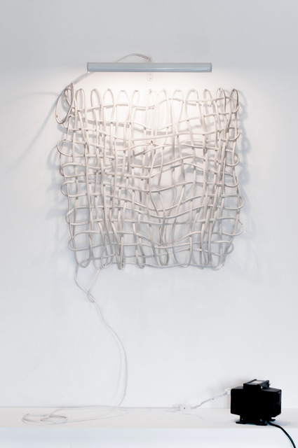 , 'Electric self-referential weave,' 1983, Cosmocosa
