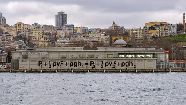 , 'Hydrodynamics Applied,' 2015, Istanbul Biennial