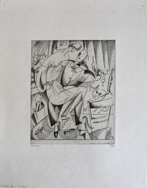 Jean-Emile Laboureur, 'Bachelor's Fare', 1916, Gilden's Art Gallery