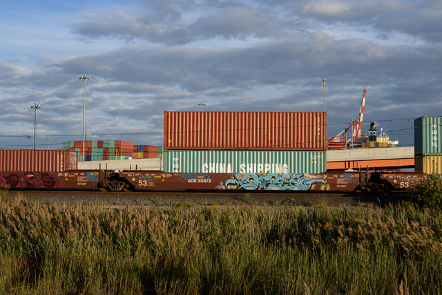 , 'Containers and Ship,' 2015, Soho Photo Gallery