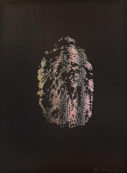 June Wayne, 'Visa/Tuesday', 1976, Print, Eight-color lithograph, Tamarind Institute