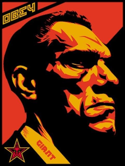 Shepard Fairey (OBEY), 'Big Brother Profile', 2000, Gregg Shienbaum Fine Art