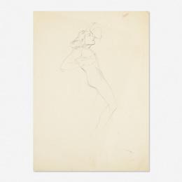 Untitled (Figure Sketch)