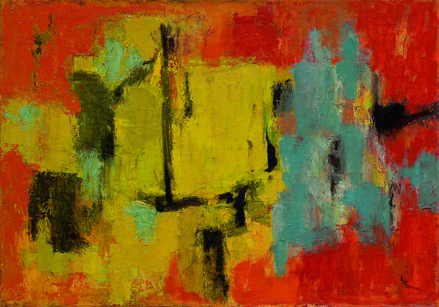 , 'Yellow and Blue,' 1959, The Studio Museum in Harlem