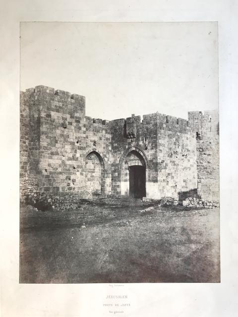 Auguste Salzmann, 'Porte de Jaffa (Jaffa gate)', 1854, Vision Neil Folberg Gallery