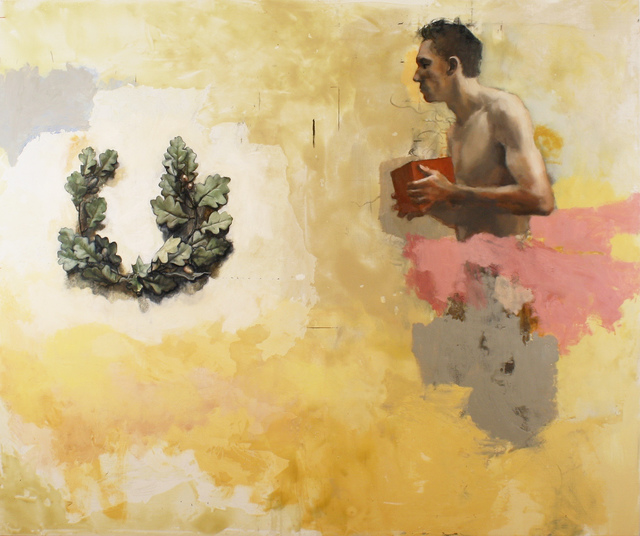 Tim Wright, 'The Gift', 2019, Painting, Oil on canvas, Albemarle Gallery
