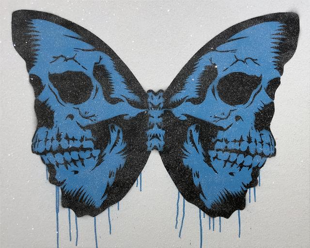 , 'Skullerfly (Blue),' 2018, Imitate Modern