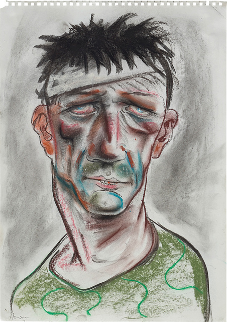 Peter Howson, 'Muslim Fighter on Drugs', 1993-1994, Phillips