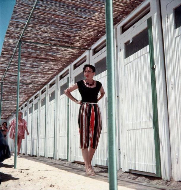 , 'Florette à la Plage du Carlton, Cannes,' 1956, Opiom Gallery
