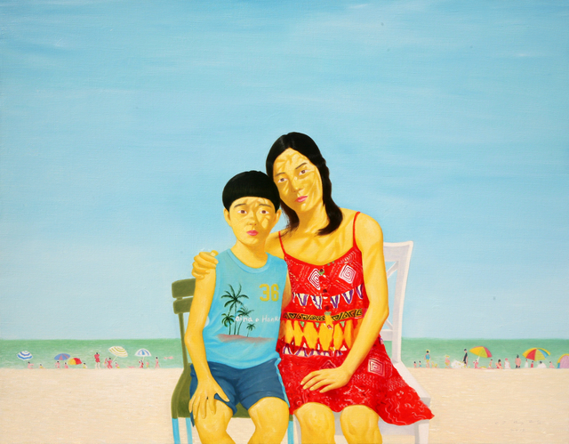, 'On the beach,' 2015, Pyo Gallery