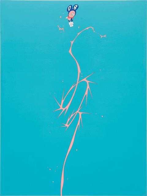 Takashi Murakami, 'DOB Splash (walkman)', 1999, Painting, Acrylic on canvas on board, Phillips