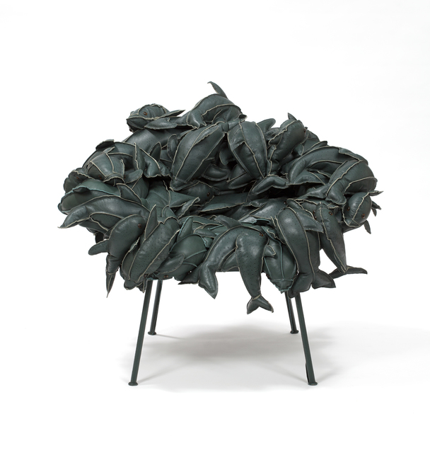, 'Banquete Dolphins in Leather,' 2011, Friedman Benda