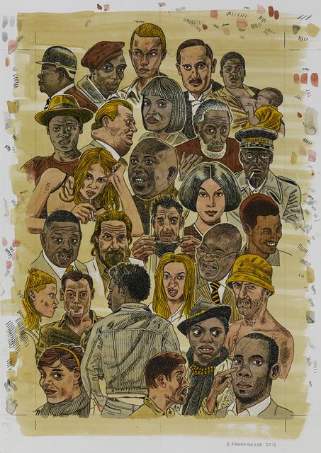 , 'South African Portraits,' 2013, HUBERTY & BREYNE GALLERY