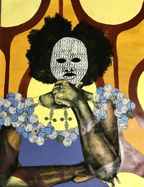 , 'The Mask I Wear,' 2017, Nicole Longnecker Gallery