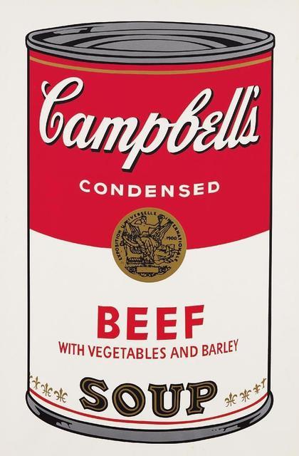 Andy Warhol, 'Beef Campbells Soup', 1968, OSME Fine Art
