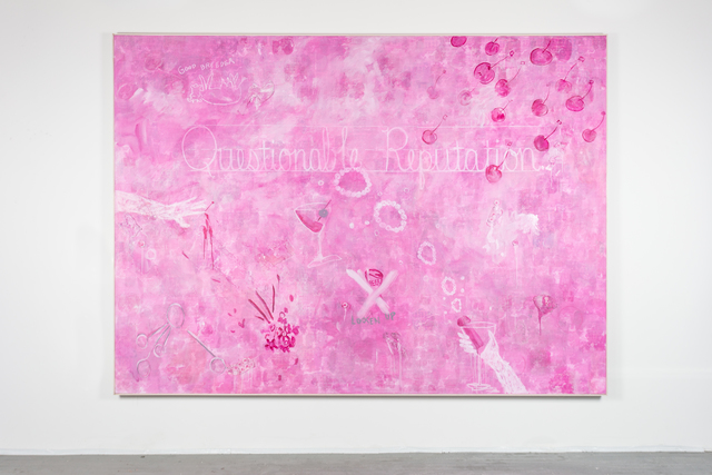 , 'Pink Lady,' 2018, Leila Heller Gallery