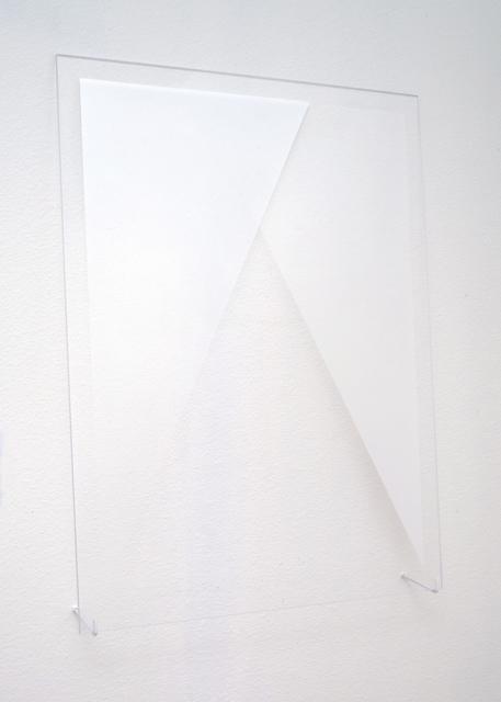 , 'Untitled (Silver Triangles),' 2015, Galleri Urbane