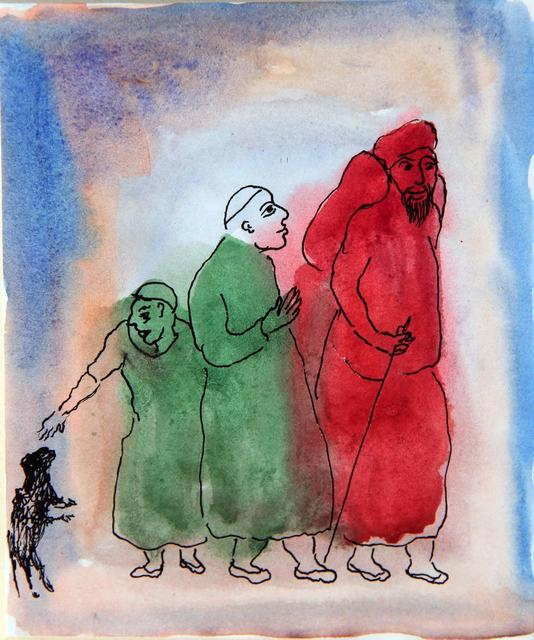, 'Looking for Godo,' 1987, The Noble Sage Collection