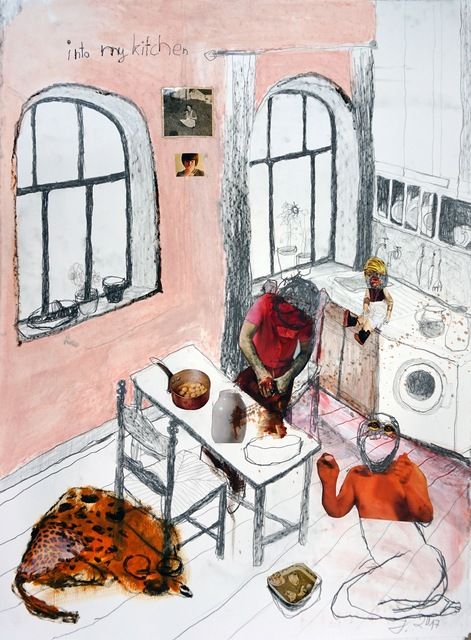 , 'Into My Kitchen,' 2017, Knight Webb Gallery