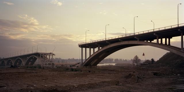 Alessio Romenzi, 'Al Shohada Bridge, Mosul', 2017, Galleria del Cembalo