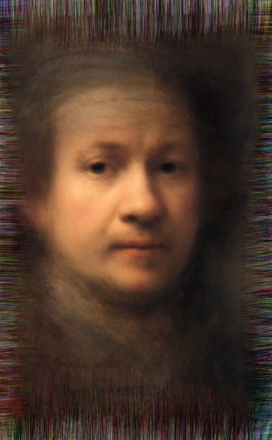 , 'Reflection - All of Rembrandt's self-portraits,' 2014, Ministry of Nomads