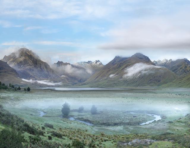 , 'Laguna en la región del Sangay, al sur de la línea ecuatorial,' 2014, Galería de la Oficina