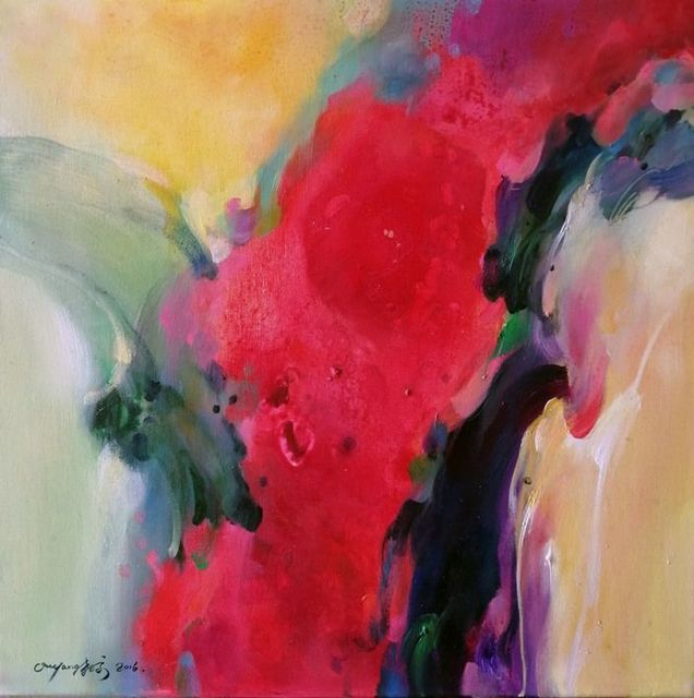 , 'Red flowers II,' 2016, BAM Gallery