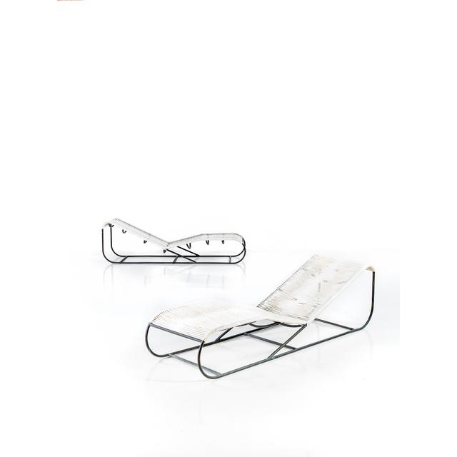 Kipp Stewart, 'Pair Of Chairs', 1960, Design/Decorative Art, Bronze et corde, PIASA