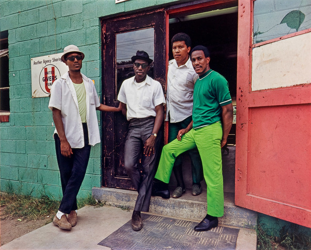 Evelyn Hofer, 'Four Young Men, Washington D.C.', 1975, Danziger Gallery