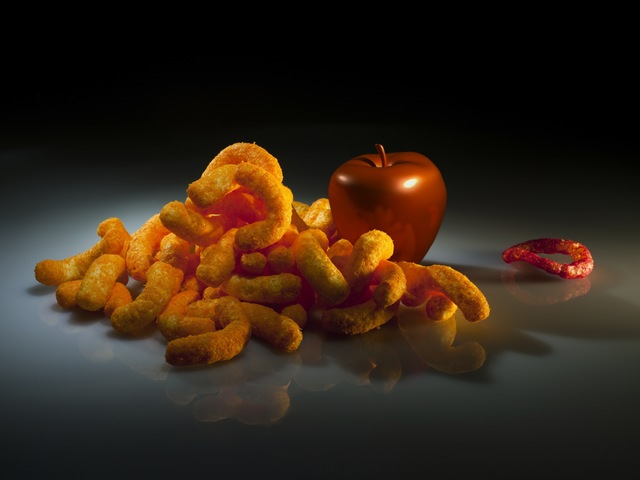 , 'Still Life With Funyun,' 2011, bitforms gallery