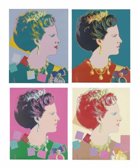 Andy Warhol, 'Queen Margrethe Royal edition ', 1985, OSME Fine Art