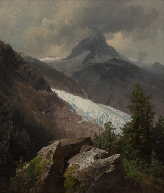 , 'Mountainous Landscape,' ca. 1880, Montclair Art Museum
