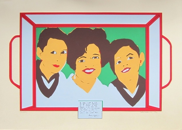 , 'Mi Lucha,' 1974, Casas Riegner