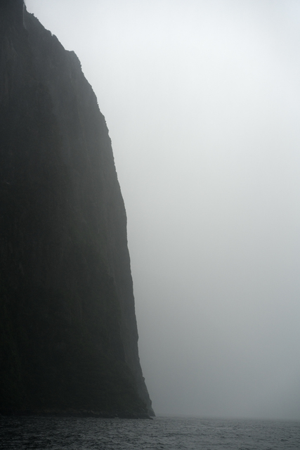 , 'The North Wall of the Fjord, Milford Sound, New Zealand, Autumn,' 2018, Huxley-Parlour