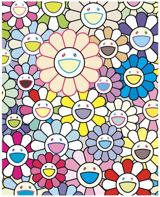 Takashi Murakami, 'FIELD OF FLOWERS', 2020, Dope! Gallery