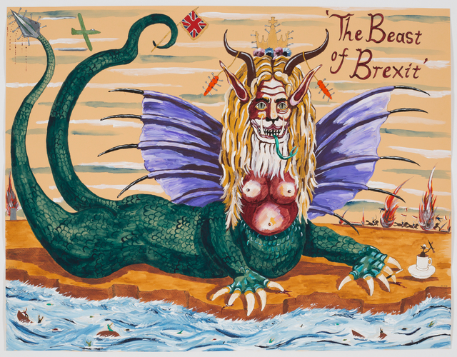 , 'The Beast of Brexit,' 2018, Sperling