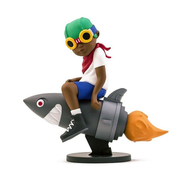 Hebru Brantley, ' Hebru Brantley Flyboy (Beyond the Beyond) ', 2018, Lot 180