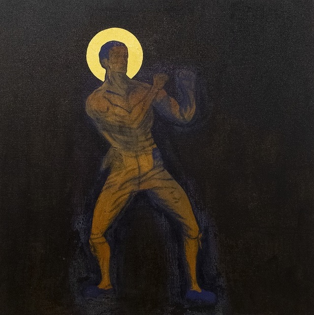 Godfried Donkor, 'St', 2019, Painting, Oil, Acrylic and gold leaf on linen, Gallery 1957