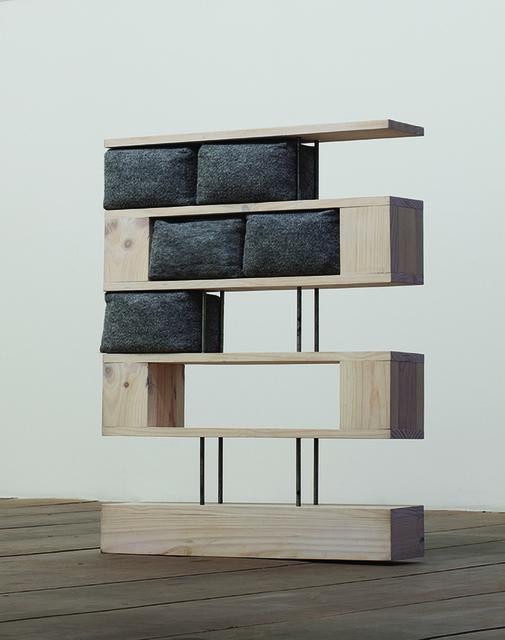 , 'Estante sobre pilotis,' 2013, Galeria Jaqueline Martins