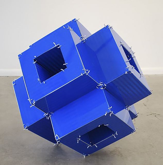, 'Blue Tube,' 2014, David Richard Gallery