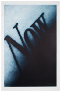 Ed Ruscha, 'Now', 1990, Art Resource Group