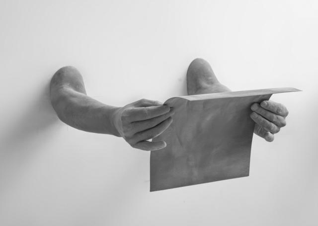 , 'Gesture (letter),' 2014, Galerie Ron Mandos