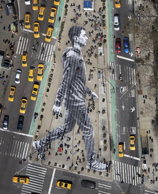 , 'Migrants, Walking New York City, New York, USA, 2015,' 2015, Jeffrey Deitch