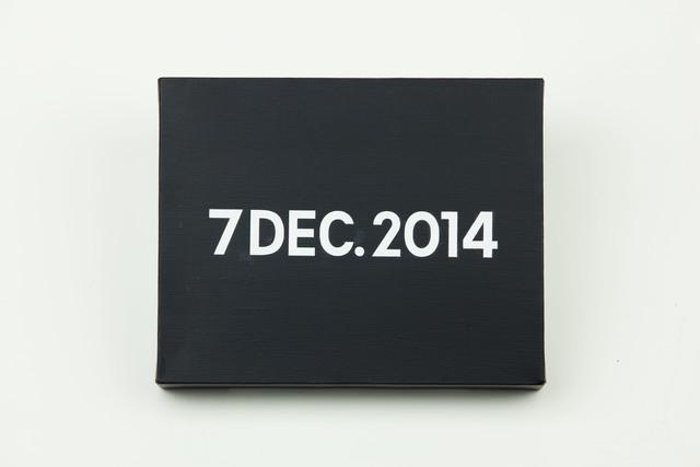 , 'On Kawara, Today Series, 7DEC.2014,' 2014, MadeIn Gallery