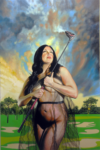 , 'Untitled 014 (Golf Girl),' 2015, Benjaman Gallery Group