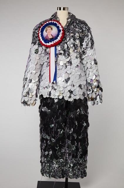 , 'Well-Suited Senator (Tammy Baldwin),' 2018, Robert Mann Gallery