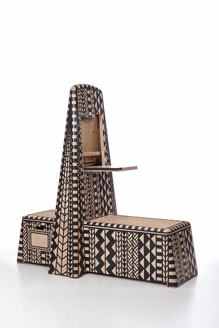 , 'Horseman bench, from Kassena Town series,' 2015, Cooper Hewitt, Smithsonian Design Museum