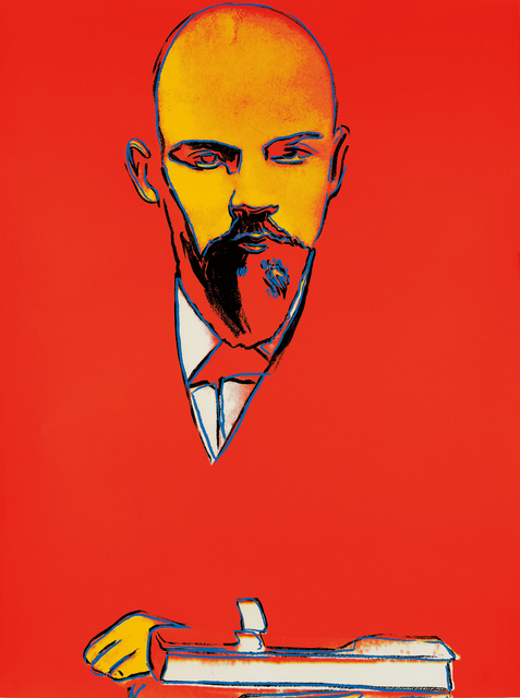 Andy Warhol, 'Red Lenin', 1987, Phillips