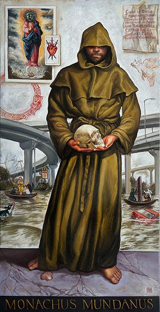 , 'MONACHUS MUNDANUS,' 2018, La Luz de Jesus Gallery