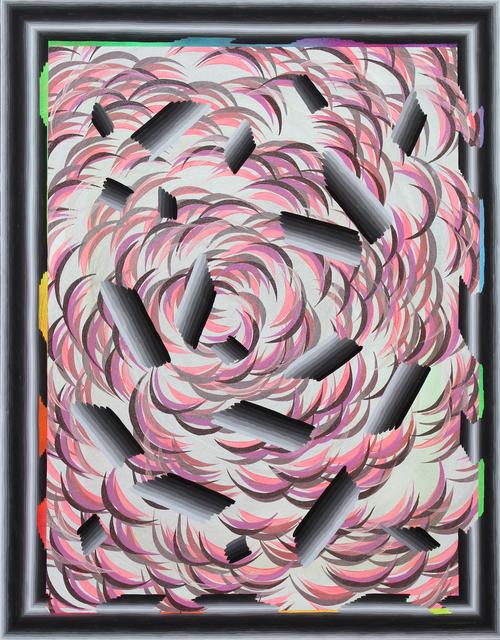 , 'Kinetic Smoke (Broken Pattern),' 2014, Hosfelt Gallery